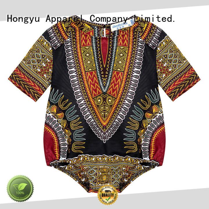 HongYu Apparel kids dress clothes top children