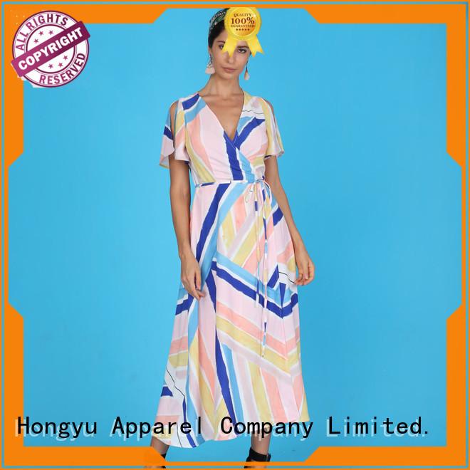 HongYu Apparel african dresses design shoulder africa