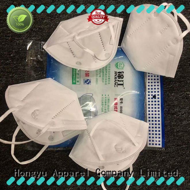 HongYu Apparel medical face masks manufacturer for doctor