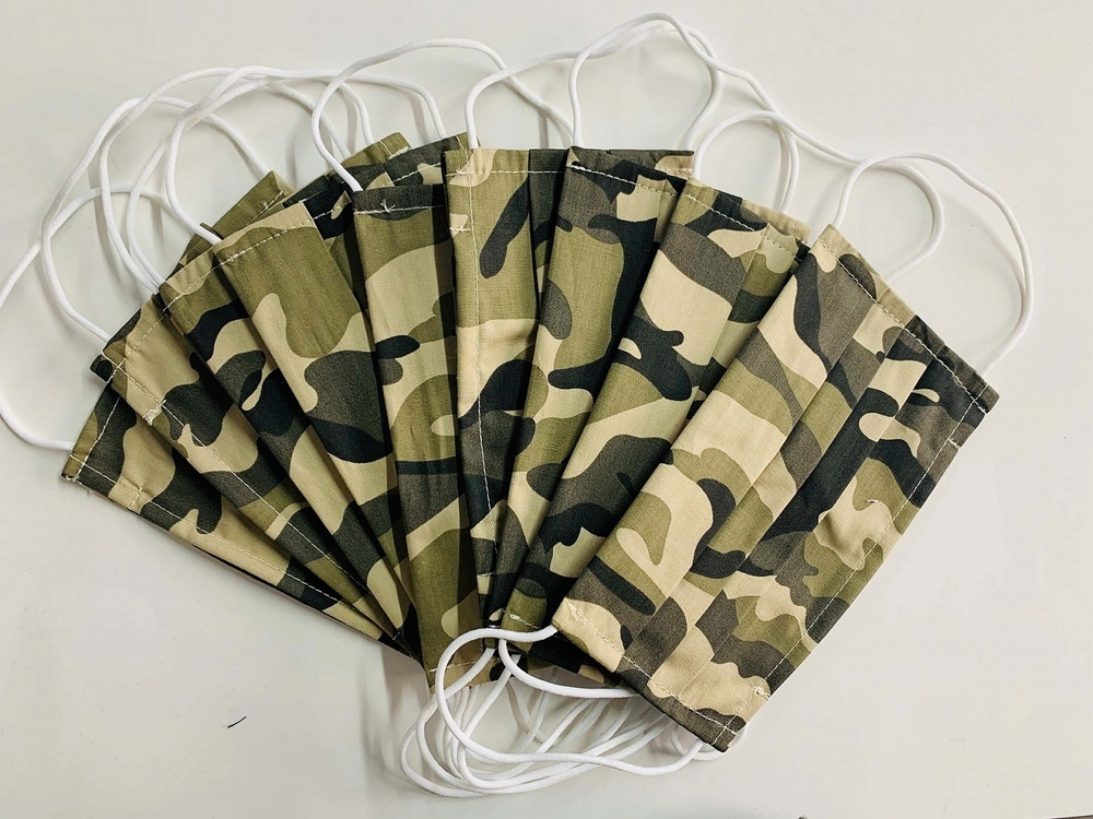 Reusable Dust Mask Fabric Cotton Camouflage Masks for Sale Wholesale Factpry Mask Supplier