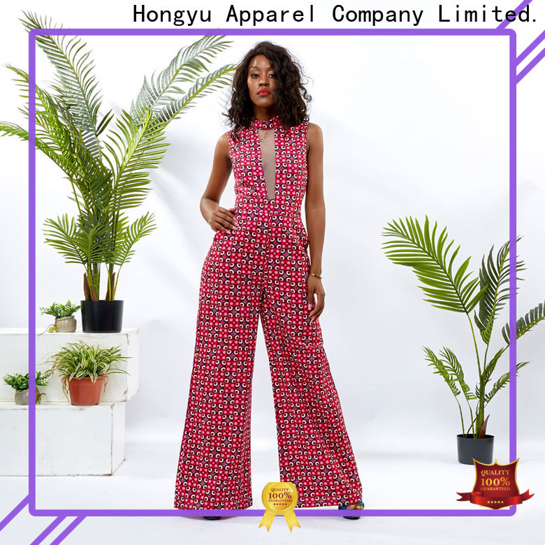 HongYu Apparel soft dressy jumpsuits for women romper africa