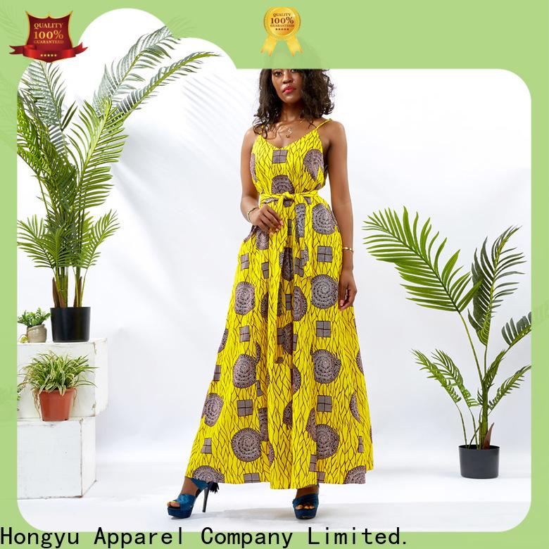 HongYu Apparel african dresses for girls floor reception