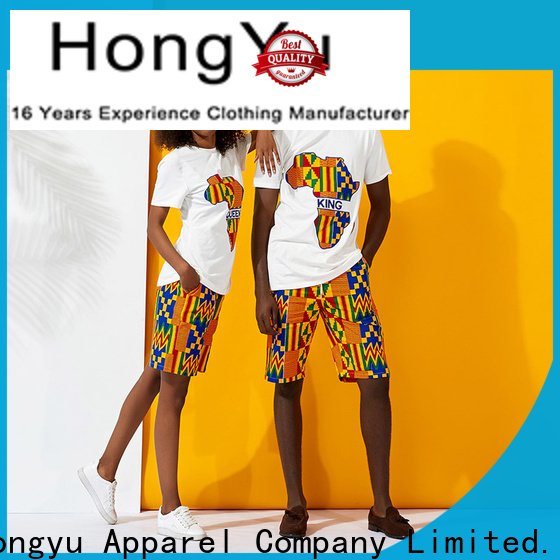 HongYu Apparel couple wear wear men
