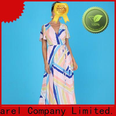 trim african print dresses women africa