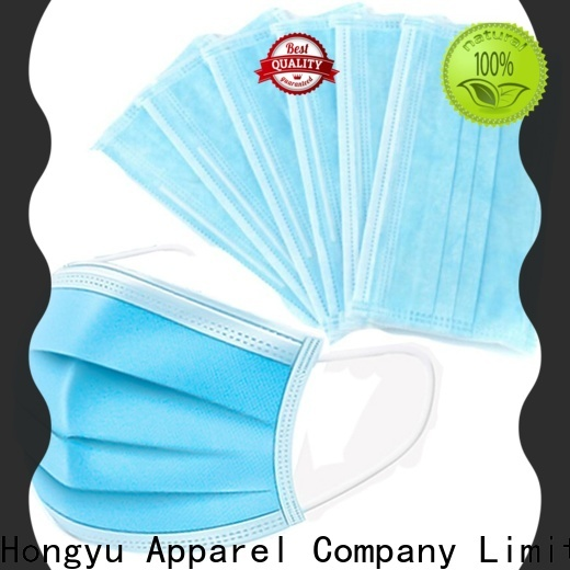HongYu Apparel resusable hospital mask for man for patient