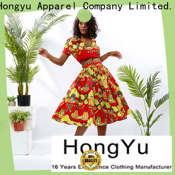 HongYu Apparel two piece short set women women