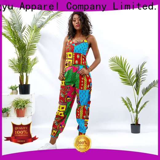 HongYu Apparel midi african two piece dress design africa