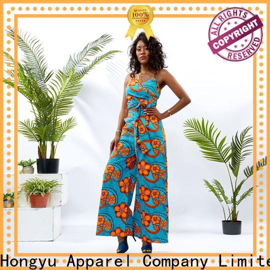 customized african two piece dress women africa