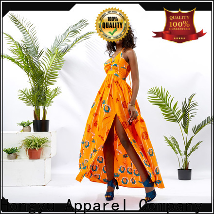 HongYu Apparel backless african dresses for girls floor africa