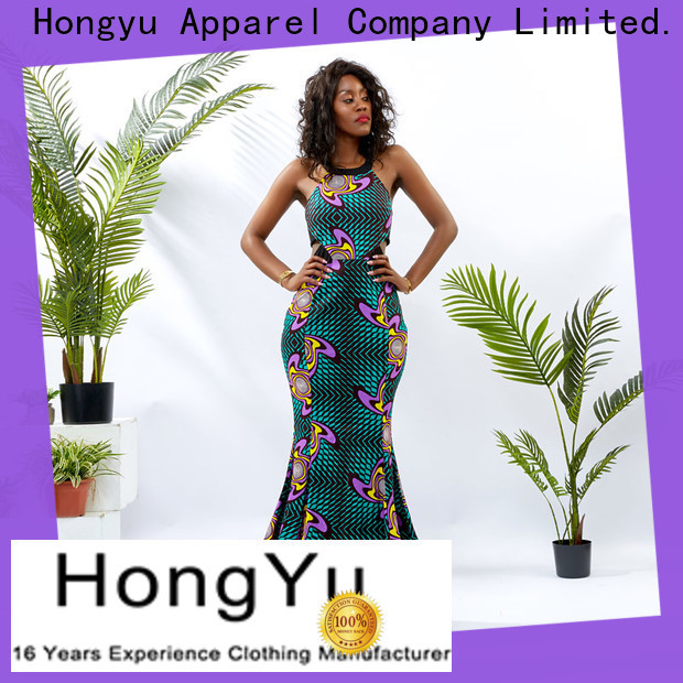 HongYu Apparel ankara classy dresses women reception