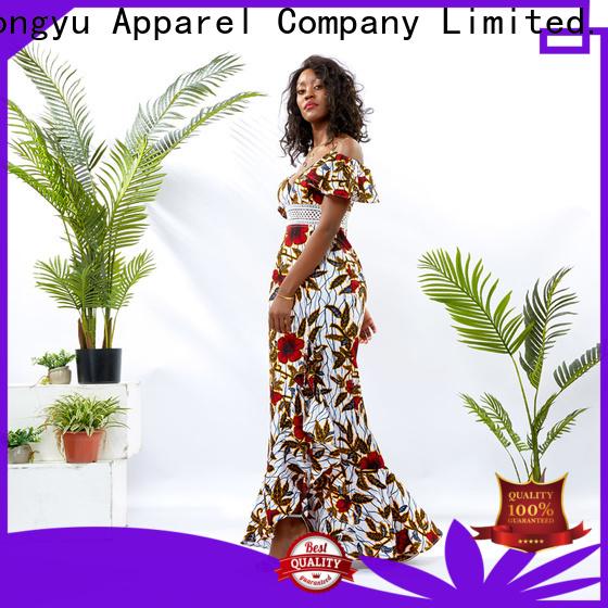 HongYu Apparel wrap wholesale dresses women africa