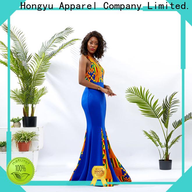 HongYu Apparel african dresses shoulder mall