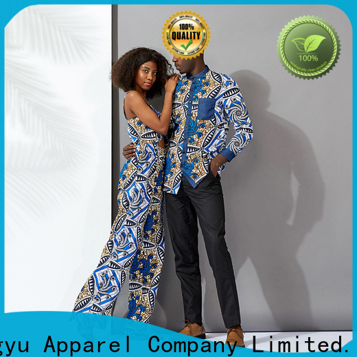 HongYu Apparel casual couple dress design couples