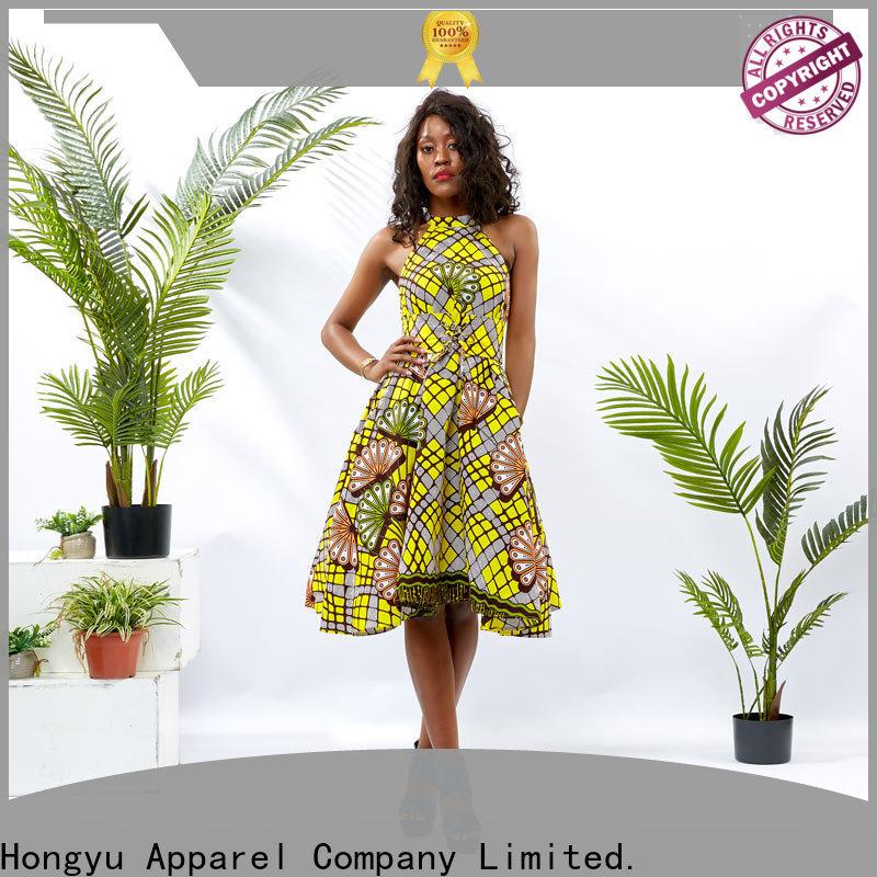 HongYu Apparel elegant dresses for women shoulder reception