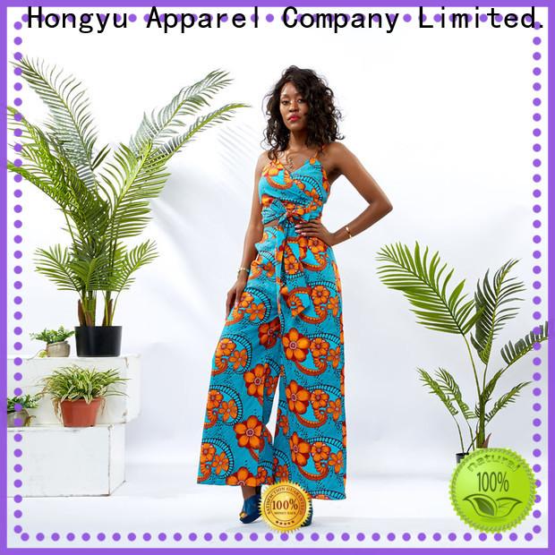 HongYu Apparel two piece dress set design africa