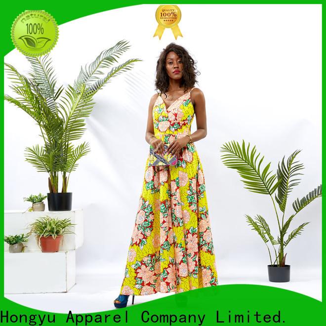 HongYu Apparel african print dress designs off africa