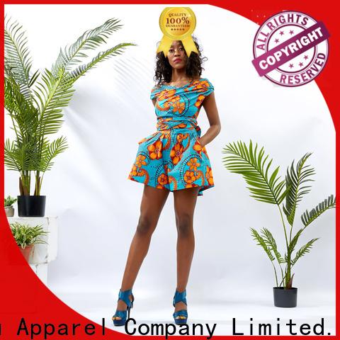 HongYu Apparel rayon womens floral jumpsuit romper women