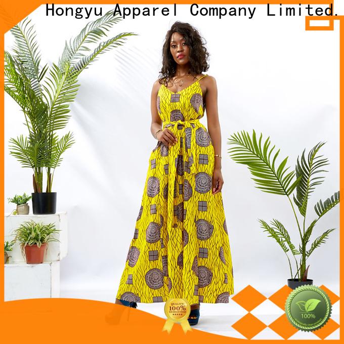 HongYu Apparel long african dresses off reception