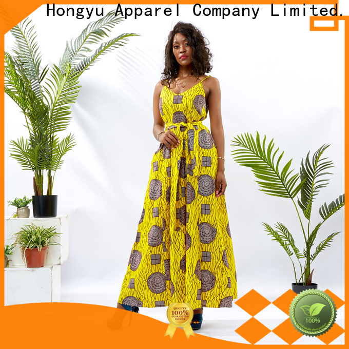 HongYu Apparel long african dresses off reception