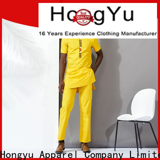 HongYu Apparel custom t shirt design bottoms work