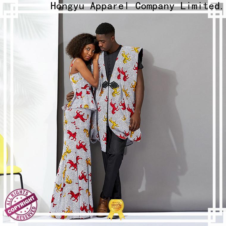 HongYu Apparel matching matching t shirts for couples design men