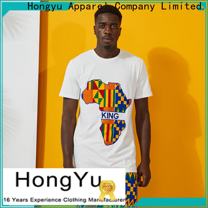 HongYu Apparel yellow polo shorts men bottoms home