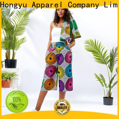 HongYu Apparel cotton womens lounge pants wholesale mall
