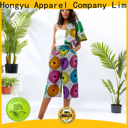 HongYu Apparel cotton womens lounge pants wholesale mall