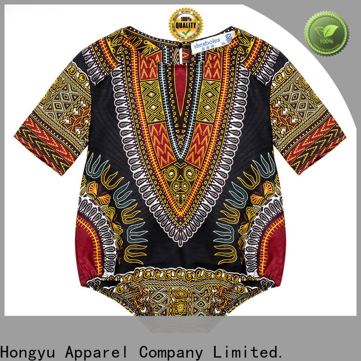 HongYu Apparel 100cotton best kids clothes t shirt girls