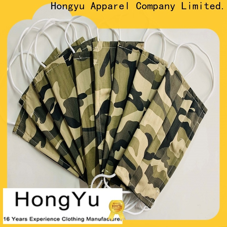 HongYu Apparel health face mask for sale for patient