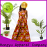 HongYu Apparel midi short wrap dress floor africa