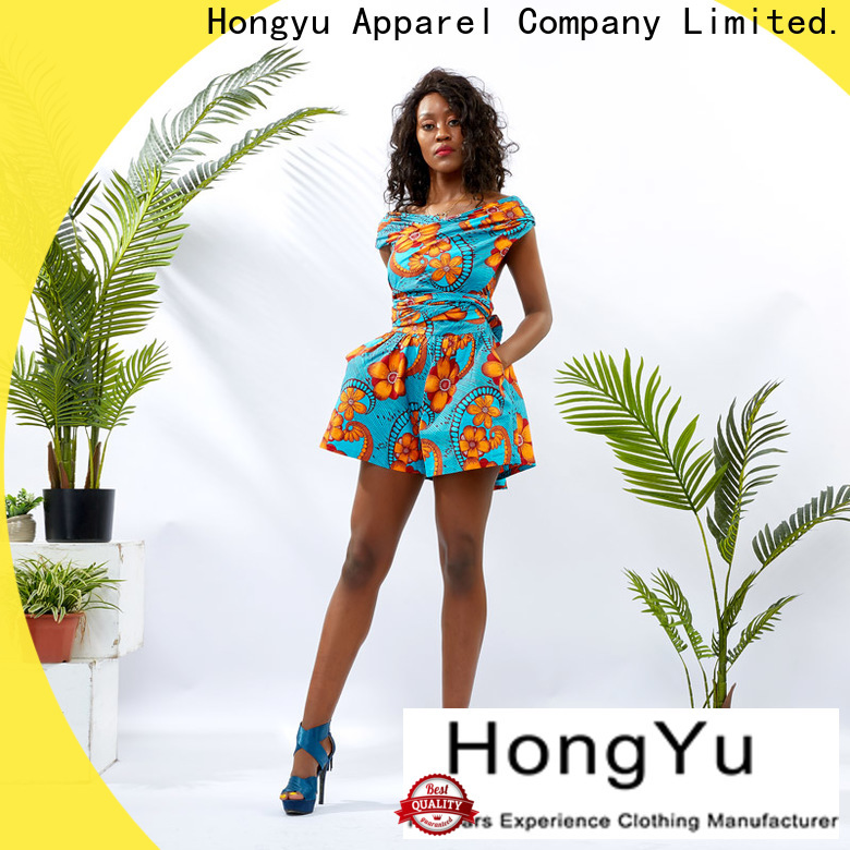 HongYu Apparel going out jumpsuits design women