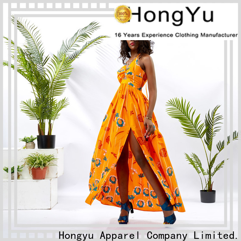 HongYu Apparel wax ladies dress off mall