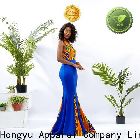 HongYu Apparel african dresses for girls floor mall