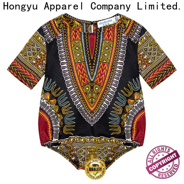 HongYu Apparel kids summer clothes t shirt kids