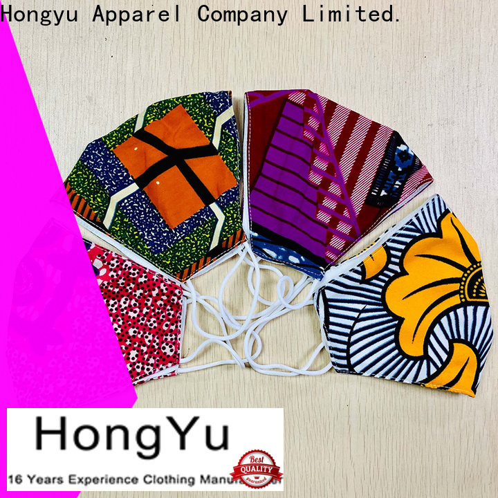 HongYu Apparel high quality medical face mask for patient