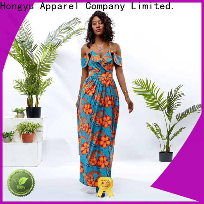 floral african print dresses for ladies shoulder mall