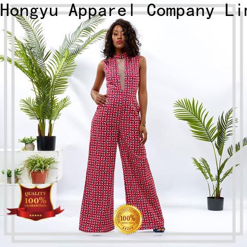 HongYu Apparel soft long sleeve jumpsuits for women romper africa