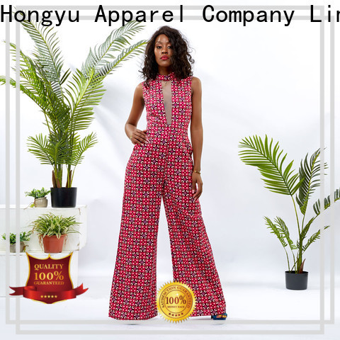HongYu Apparel soft long sleeve jumpsuits for women romper africa