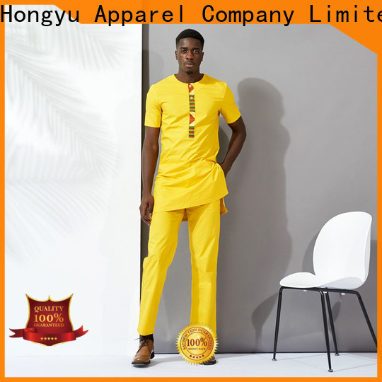 two african clothing for men short work