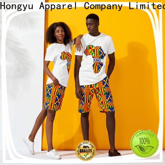 HongYu Apparel matching best couple wear wear ladies