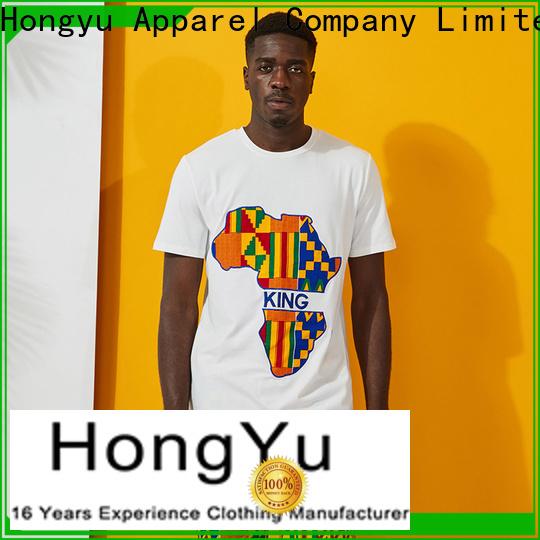 HongYu Apparel custom mens t shirt clothes