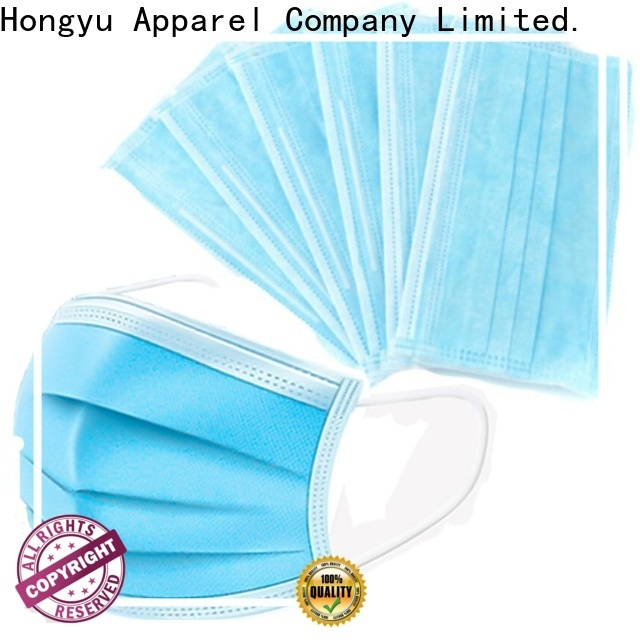 HongYu Apparel disposable surgical mask manufacturer for hospital