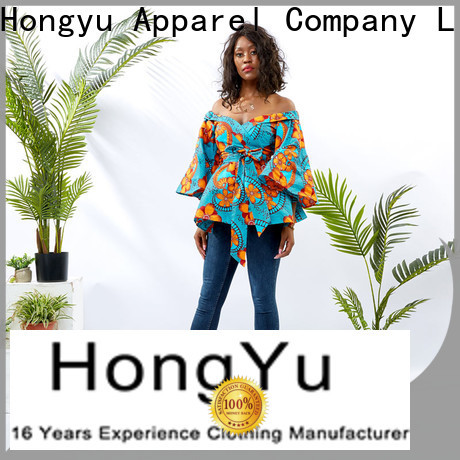 HongYu Apparel women top ladies reception