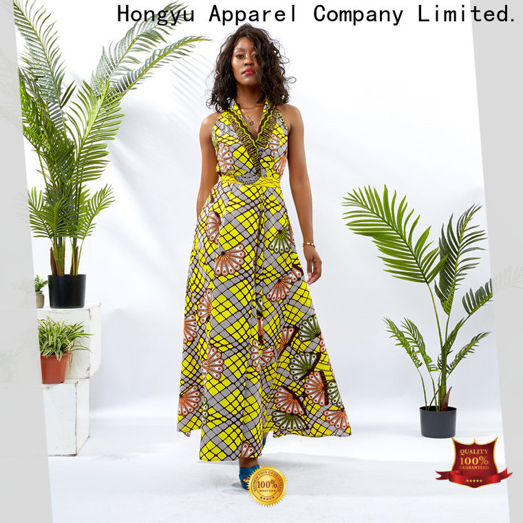HongYu Apparel wholesale dresses off mall