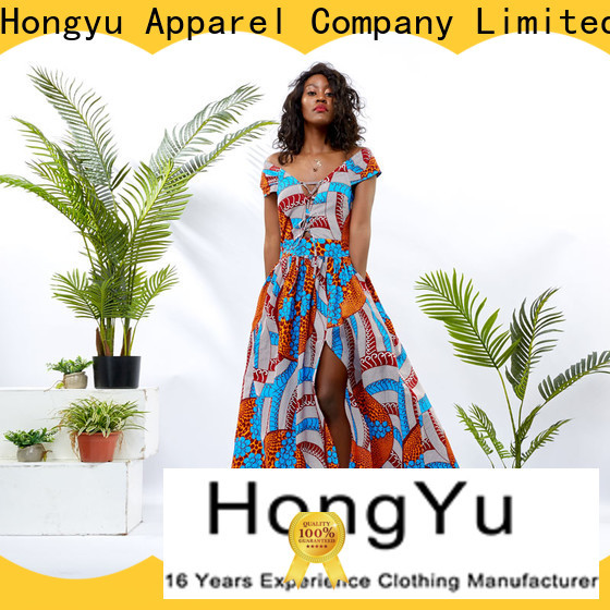 HongYu Apparel african dresses for ladies women reception