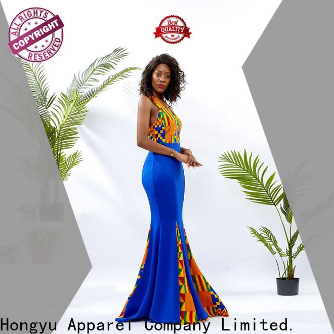 HongYu Apparel lace wholesale dress off reception