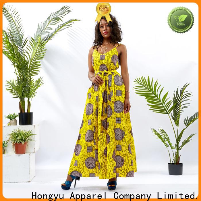 HongYu Apparel african print dresses women africa