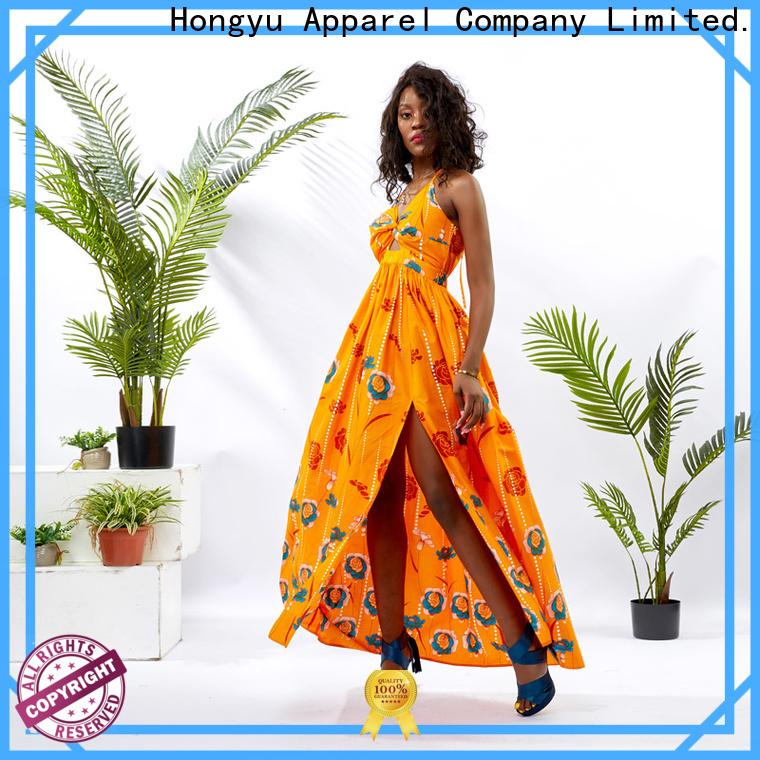HongYu Apparel fashion dress for womens women reception