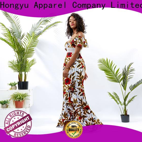 HongYu Apparel summer wrap dress off africa